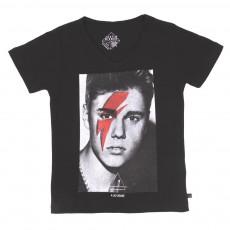 T-shirt Bieber Noir