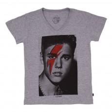 T-shirt Bieber Gris chiné