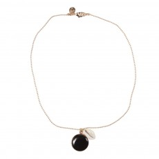 Collier Coquillage Noir