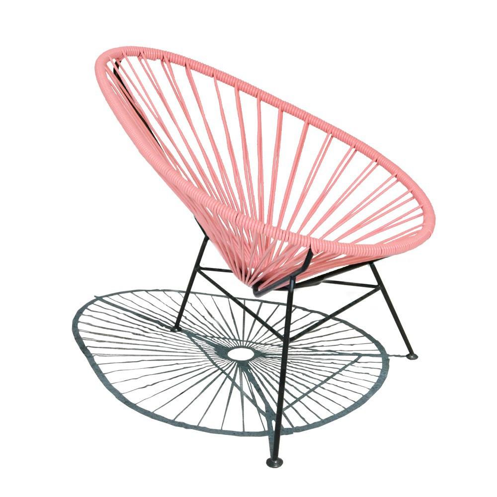fauteuil acapulco mini rose sentou mobilier smallable. Black Bedroom Furniture Sets. Home Design Ideas