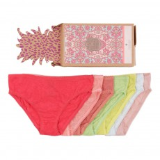 Set de 7 Culottes Multicolore