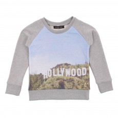 Sweat Hollywwod Gris chiné