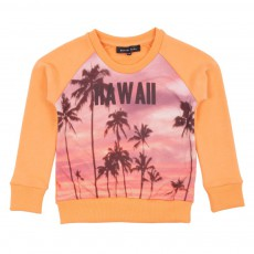 Sweat Hawai Jaune