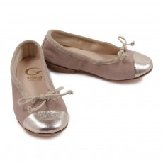 Ballerines Bicolores Naturel