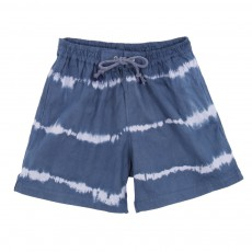 Short de Bain Tie and Dye Bleu