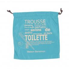 Housse de Toilette Bleu turquoise