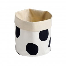 Panier Pois Noirs - Taille S