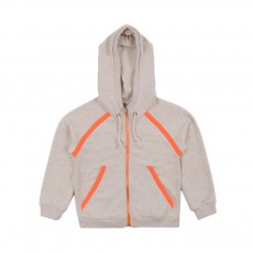 Sweat Capuche Orange