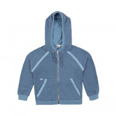 Sweat Capuche Bleu ciel