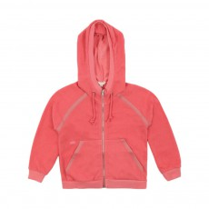 Sweat Capuche Corail