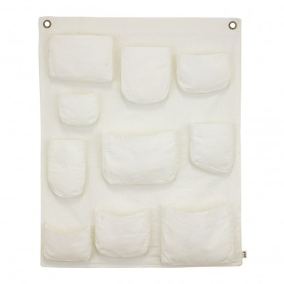 Pochette murale - Blanc Numero 74 - Décoration - Smallable