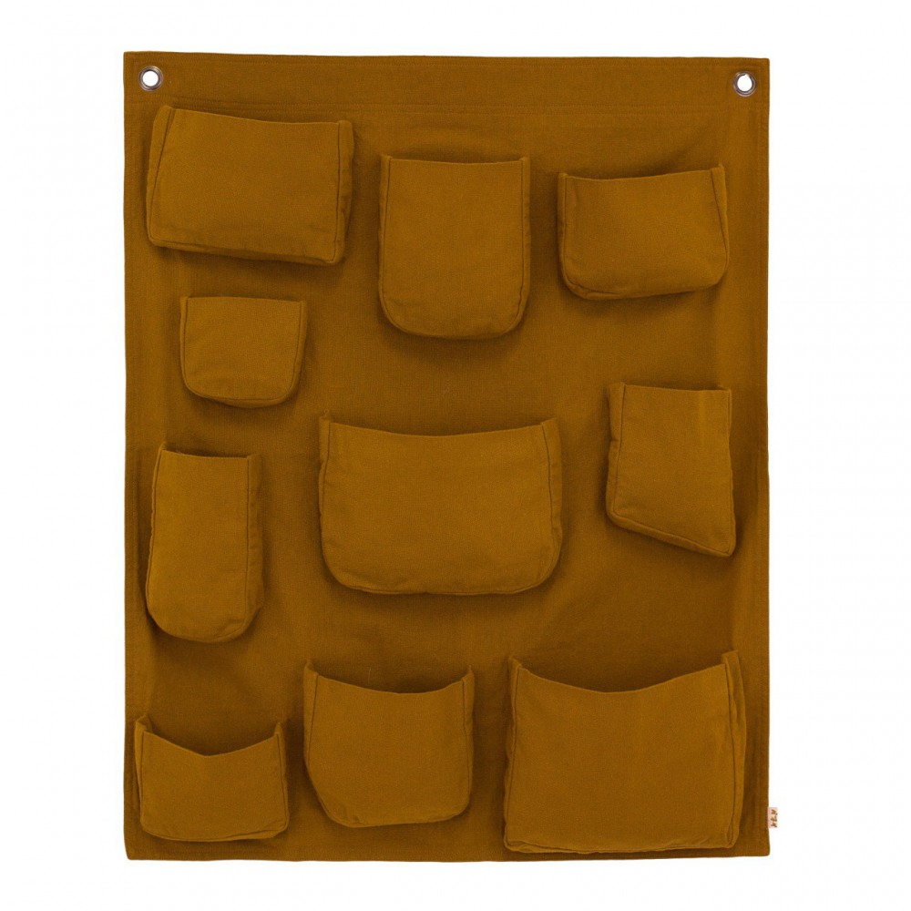 pochette murale jaune moutarde numero 74 d coration smallable. Black Bedroom Furniture Sets. Home Design Ideas