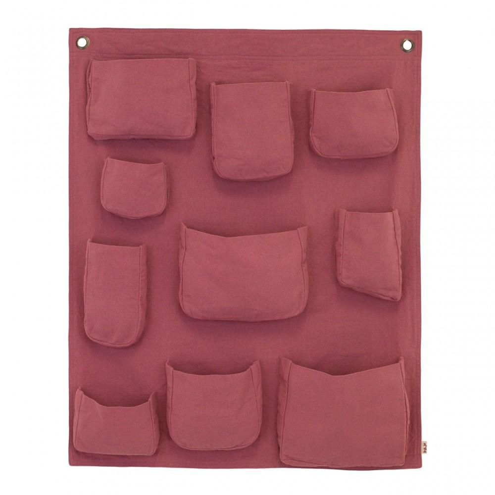 Pochette murale rose numero 74 d coration smallable for Pochette murale de rangement