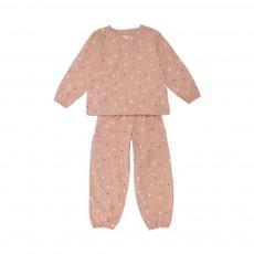 Pyjama Maurice Rose pêche