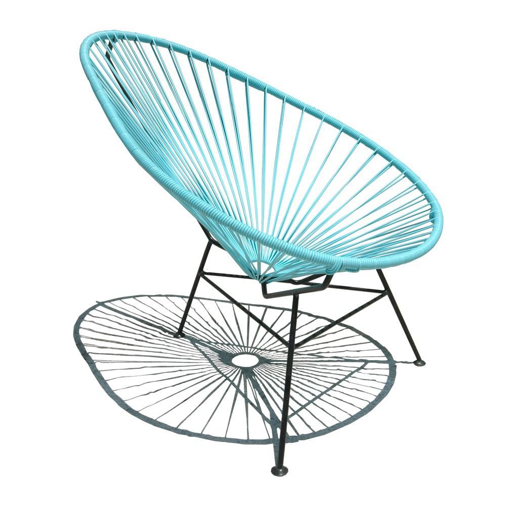 fauteuil acapulco mini turquoise bleu turquoise sentou mobilier smallable. Black Bedroom Furniture Sets. Home Design Ideas