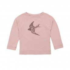 Sweat James Hirondelle Vieux Rose