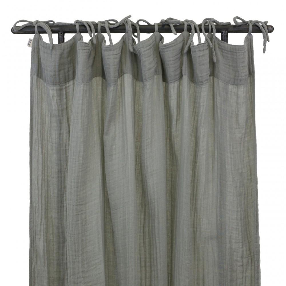 rideau gris numero 74 d coration smallable. Black Bedroom Furniture Sets. Home Design Ideas