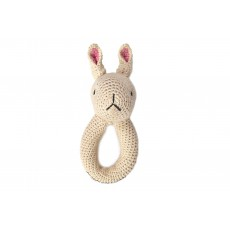 Hochet Lapin Naturel