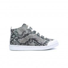 Baskets Lacets Gris