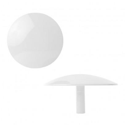 Pat re murale 10 cm blanc sentou d coration smallable - Porte manteau sentou ...