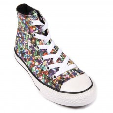 Baskets Print Multicolore