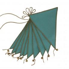 Guirlande fanions - Turquoise