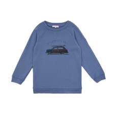 Sweat Surf Car Bleu jean