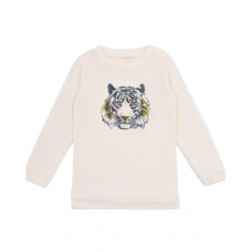 Sweat Tiger Blanc cassé
