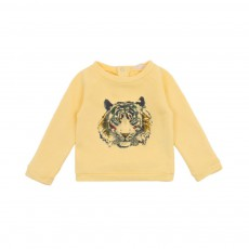 Sweat Tiger Bébé Jaune
