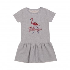 Robe Flamingo Gris chiné