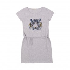 Robe Tiger Gris chiné