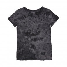 T-shirt Tunisien Crystal Wash Gris anthracite