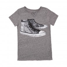 "T-shirt Tunisien ""St Chucks"" Gris chiné"
