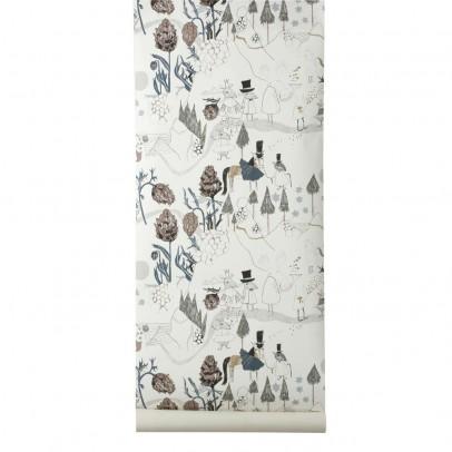 papier peint amis la montagne ferm living d coration enfant smallable. Black Bedroom Furniture Sets. Home Design Ideas