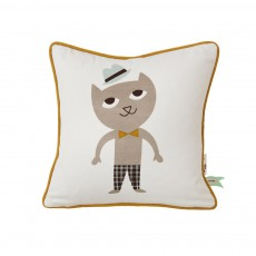 Coussin Cat Multicolore