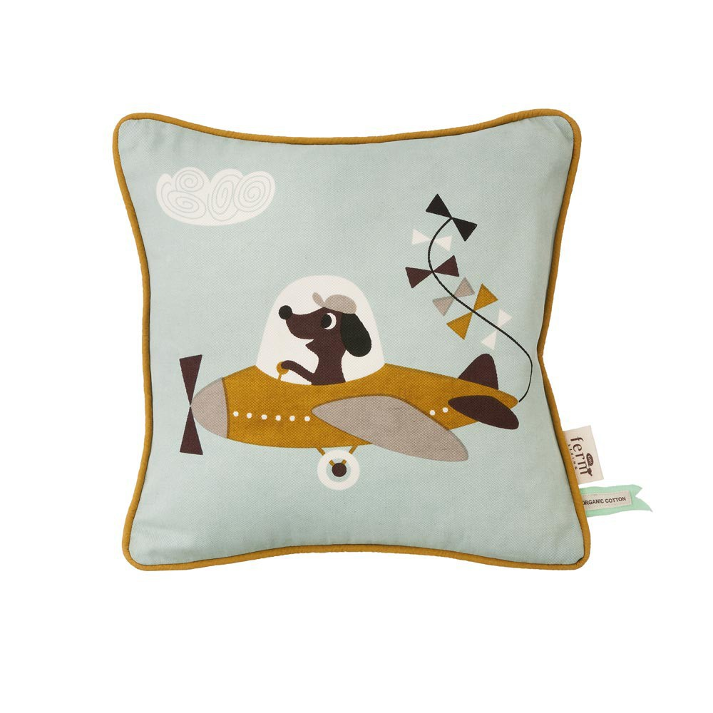 coussin avion ferm living d coration smallable. Black Bedroom Furniture Sets. Home Design Ideas