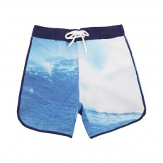 Short de Bain Vague Bleu