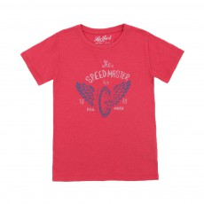 T-shirt Speedmaster Rouge