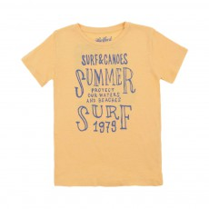 T-shirt Summer Camp 42 Jaune