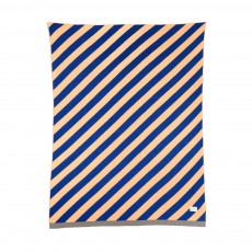 Plaid rayé - 80x100 cm