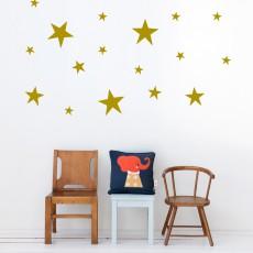 Sticker planche d'étoiles - Cuivre