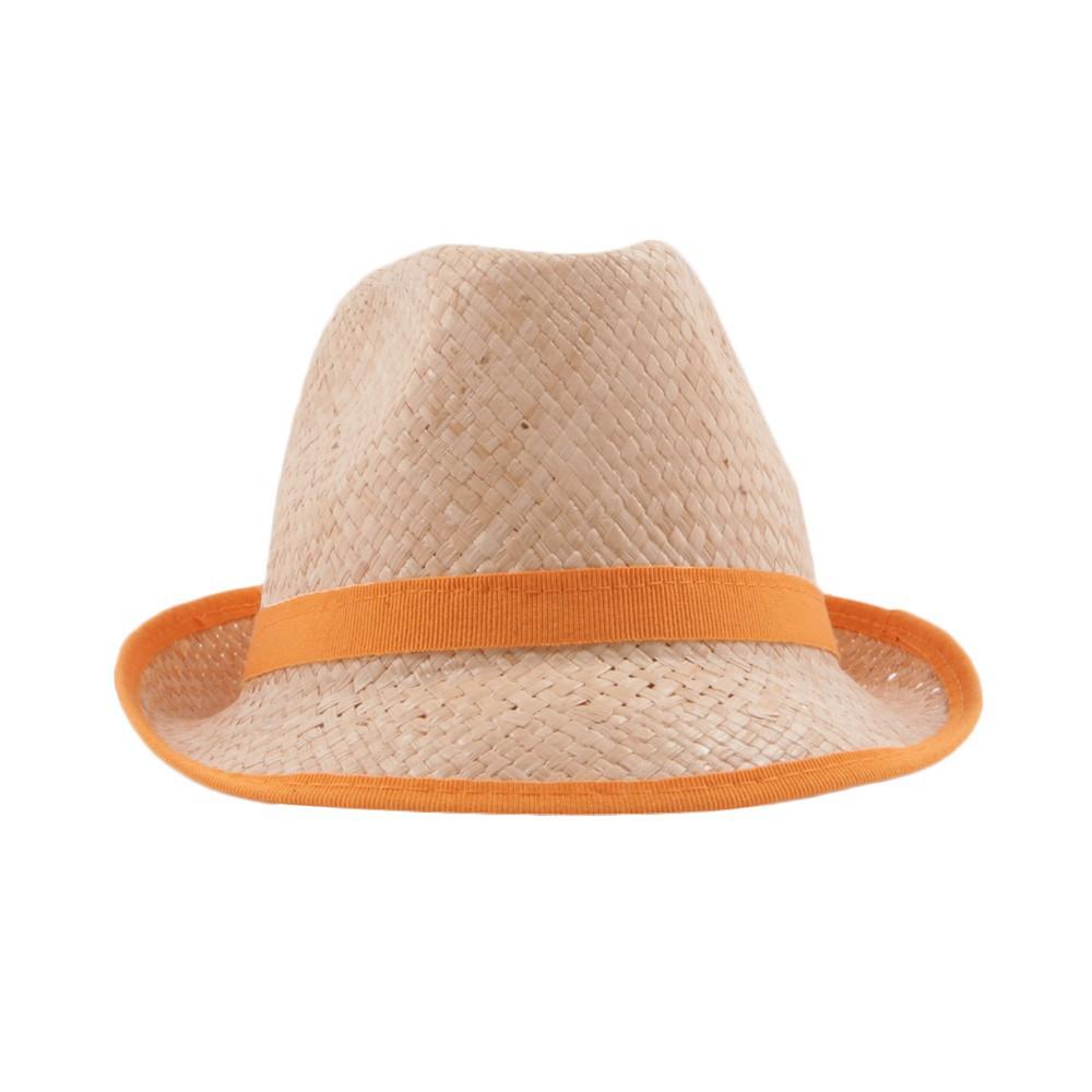 chapeau de paille orange nathalie verlinden mode enfant smallable