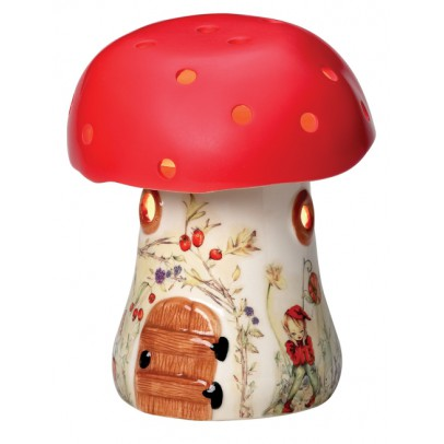 lampe champignon rouge multicolore white rabbit england d coration smallable. Black Bedroom Furniture Sets. Home Design Ideas