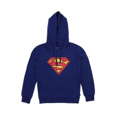 Sweat Superlogo Bleu roi