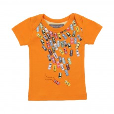 T-shirt Traffic Jam Orange