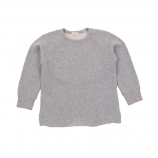Sweat Col Rond Bébé Gris chiné