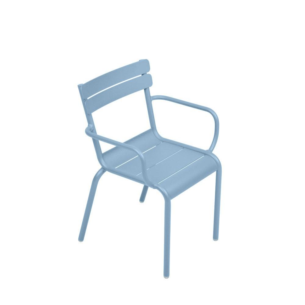 chaise bridge luxembourg bleu ciel fermob mobilier. Black Bedroom Furniture Sets. Home Design Ideas
