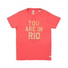 T-shirt Your Are In Rio Rouge