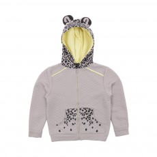 Sweat Jungle Oreilles Gris clair