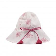 Chapeau Colette Fleurs Rose